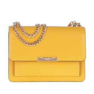 MICHAEL KORS - Satchel Bag - Large Gusset Shoulder Bag Sunflower - in gelb - für Damen