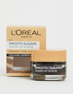 Loreal - L'Oreal Paris – Sugar Wake-Up Coffee – Glättendes Gesichts- und Lippenpeeling, 50 ml-Keine Farbe