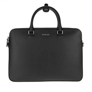 MICHAEL KORS - Aktentasche - Men Slim Double Zip Briefcase Black - in schwarz - für Damen
