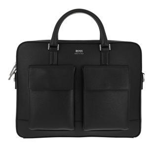 Boss - Aktentasche - Men Signature Business Bag - in schwarz - für Damen