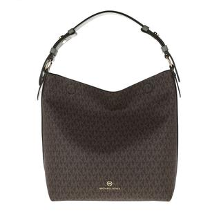 MICHAEL KORS - Hobo Bag - Lucy Medium Hobo Bag Army Green - in braun - für Damen
