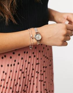 Olivia Burton - Mini Lucky Bee – Geschenkset aus Uhr und Armband-Gold