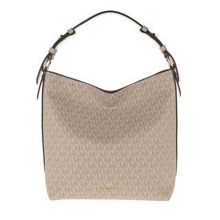 MICHAEL KORS - Hobo Bag - Lucy Medium Hobo Bag Truffle - in beige - für Damen