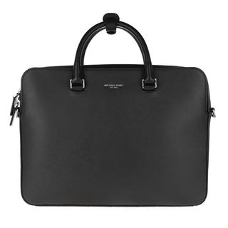 MICHAEL KORS - Aktentasche - Henry Men Double Pocket Briefcase Black - in schwarz - für Damen
