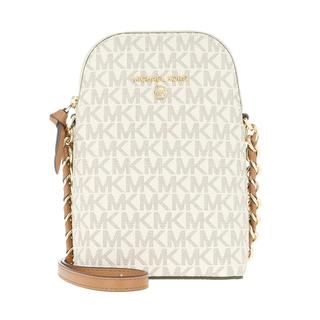 MICHAEL KORS - Umhängetasche - Jet Set Charm Small Crossbody Bag Vanilla Acron - in beige - für Damen