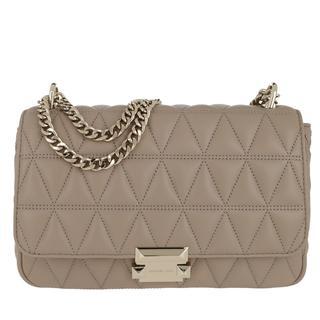 MICHAEL KORS - Umhängetasche - Sloan LG Chain Shoulder Bag Truffle - in beige - für Damen