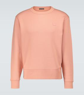 Acne Studios - Baumwoll-Sweatshirt Fairview Face