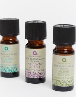 Aroma Home - Home Detox – Ätherische Ölmischungen, 3 x 9ml-Keine Farbe
