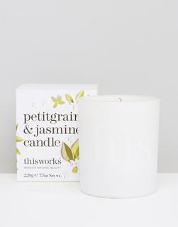 This Works - Petitgrain & Jasmine Candle 220 g-Keine Farbe
