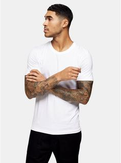 Selected Homme - Mens Selected Homme White Perfect T-Shirt, White