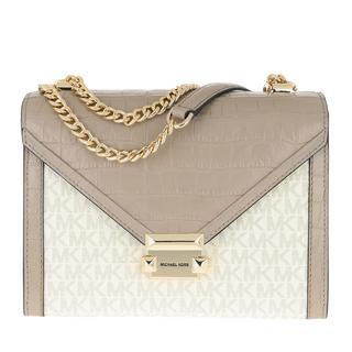 MICHAEL KORS - Umhängetasche - Whitney Large Shoulder Bag Truffle - in beige - für Damen