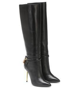 Tom Ford - Verzierte Stiefel aus Leder