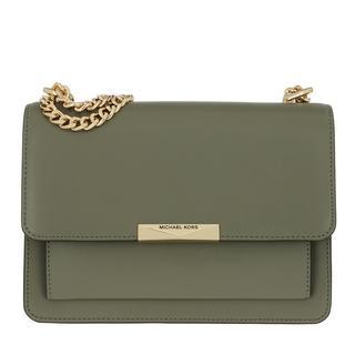 MICHAEL KORS - Umhängetasche - Jade Large Gusset Shoulder Bag Army Green - in grün - für Damen
