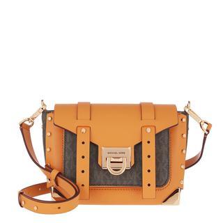 MICHAEL KORS - Umhängetasche - Manhattan Small Messenger Crossbody Cider - in orange - für Damen