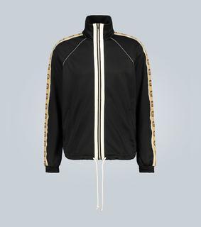 Gucci - Tech-Jacke mit Logo-Borten