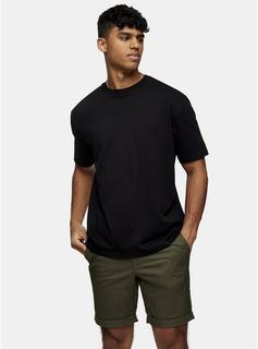 Selected Homme - Mens Selected Homme Khaki Jersey Shorts, Khaki