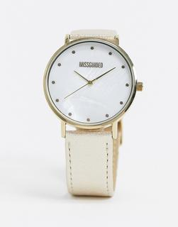 Missguided - Analoge Uhr in Gold