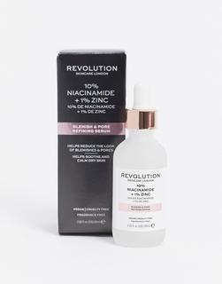 Revolution - Skincare – SuperSized– Hautbildverfeinerndes Serum mit 10% Niacinamid + 1% Zink-Keine Farbe