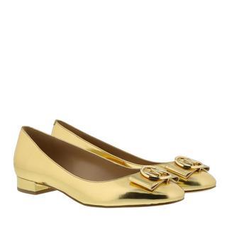 MICHAEL KORS - Ballerinas - Marsha Flat Old Gold - in gold - für Damen