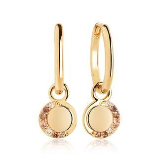 Sif Jakobs Jewellery - Ohrringe - Portofino Lungo Earrings Yellow Gold - in gelbgold - für Damen