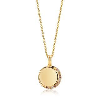 Sif Jakobs Jewellery - Halskette - Portofino Pendant 60 cm Yellow Gold - in gelbgold - für Damen