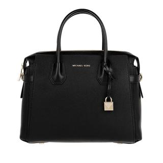MICHAEL KORS - Tote - Mercer Belted Medium Satchel Black - in schwarz - für Damen