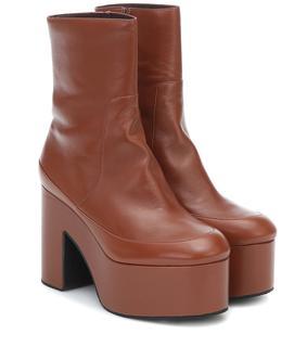 Dries Van Noten - Ankle Boots aus Leder