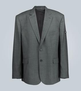 balenciaga - Oversize-Blazer aus Wolle