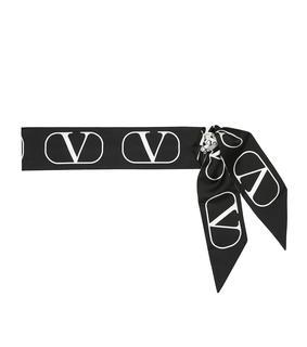 Valentino Garavani - Tuch VLOGO aus Seide