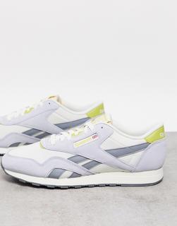 Reebok - Klassische Sneaker aus Nylon in Kreide-Weiß