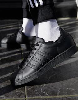 adidas Originals - Superstar – Schwarze Sneaker
