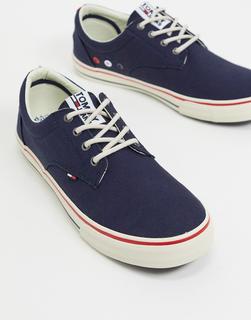 TOMMY HILFIGER - Marineblaue Sneaker-Navy