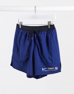 Nike Running - Blue Ribbon Sport – Shorts mit Logo in Blau