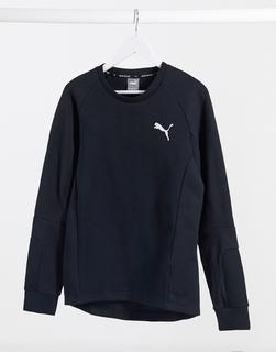 puma - Evostripe – Schwarzes Sweatshirt