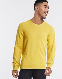 lacoste - Pullover mit Rundhalsausschnitt-Gelb