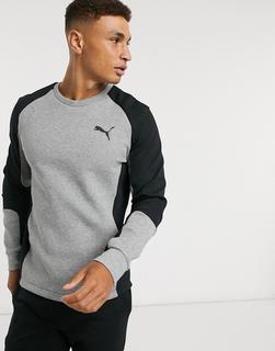 puma - Evostripe – Graues Sweatshirt