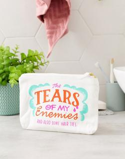 Emily McDowell - Tears Of My Enemies – Stofftasche-Mehrfarbig