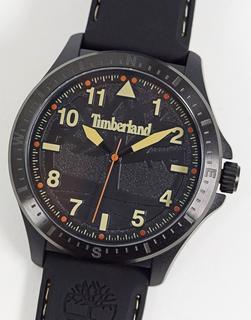 Timberland - Armbanduhr mit goldfarbenem Detail-Schwarz