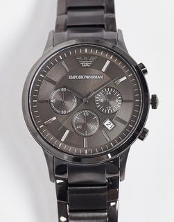 Emporio Armani - Armbanduhr in Grau