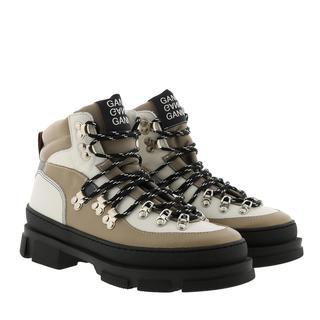 Ganni - Boots - Boot Hicking Mix Tannin - in braun - für Damen