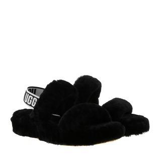 UGG - Sandalen - Women Oh Yeah Slipper Black - in schwarz - für Damen