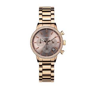 Orphelia - Uhr - Ladies Chronograph Watch Sunray Rose Gold - in roségold - für Damen