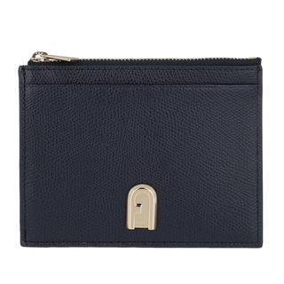 Furla - Portemonnaie - 1927 Medium Card Case Oceano - in marine - für Damen