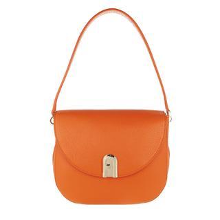 Furla - Umhängetasche - Sleek Small Crossbody Orange - in orange - für Damen