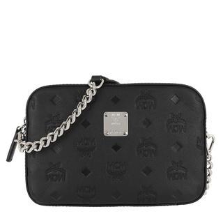 MCM - Umhängetasche - Klara Monogram Camera Bag Black - in schwarz - für Damen