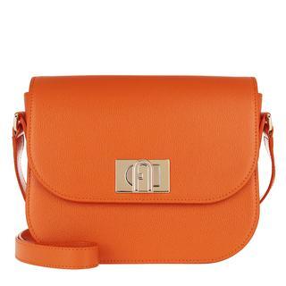 Furla - Umhängetasche - 1927 Small Crossbody 23 Orange - in orange - für Damen