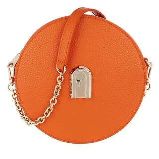 Furla - Umhängetasche - Sleek Mini Crossbody Orange - in orange - für Damen