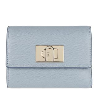 Furla - Portemonnaie - 1927 Medium Bi-Fold Avio Light - in blau - für Damen