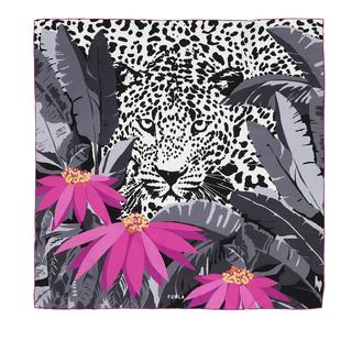 Furla - Accessoire - Tortona Carre' 90X90 Nero Flamingo Purple - in bunt - für Damen