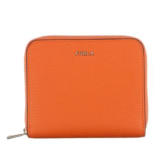 Furla - Portemonnaie - Babylon Small Zip Around Orange - in orange - für Damen